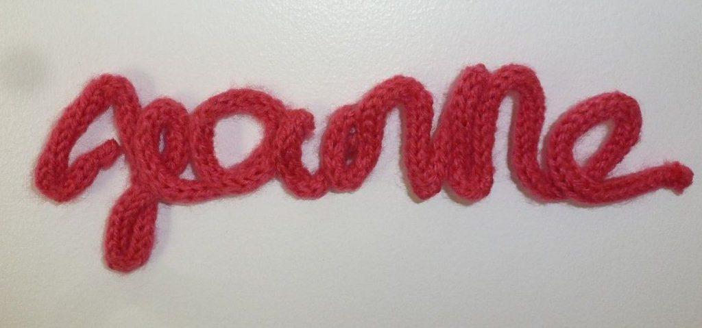 jeanne tricotin